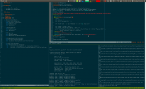 Tmux Session Example
