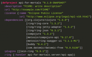 Mundane Clojure for Mortals: Building a simple Web API